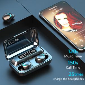 9D Sport stéréo étanche Oreillettes F9-10 F9-5c F9 TWS Bluetooth 5.0 écouteurs sans fil écouteurs Casques d'écoute avec micro