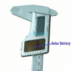 Wholesale-Free Shipping 150mm Solar Electronic Measuring Tool LCD Vernier Carbon Fiber Composite Digital Caliper STDJT-1201 VfNP#
