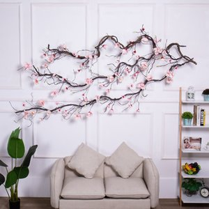 Magnolia Wedding arch Decorations flowers wall Ivy Vine wreath Artificial Flowers garland Hanging branches Wall flowers Garlands 1022