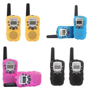 Two Way Radio Mini Talkie 22 Channel For Kids Child Walkie-Talkie Radio Comunicador Flashlight Display Children Gift LJ201105