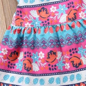 Toddler Baby Kid Girls Boho Dress Summer Bow Ruffles Dresses For Girls Todd sqcBnr