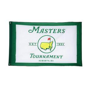Master Golf 2020 Flag 3x5 FT Golf Banner 90x150cm Festival Gift 100d Polyester Indoor Al aire libre impreso bandera