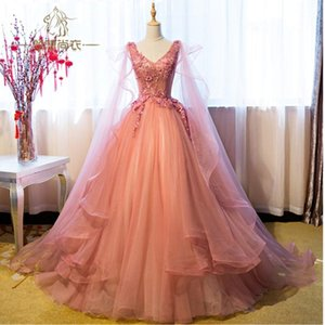 Dresses Sweetheart Tulle With Lace Pearls Vestidos Sweet Dresses Ball Downs Prom