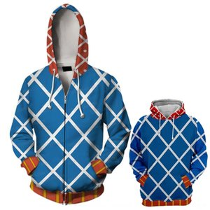 oQfyN Hot JOJO's wonderful JOJO's Gerd adventure 3D printed cardigan hooded sports sweater Hot adventure wonderful minstar Gerd Sweatshirt sw