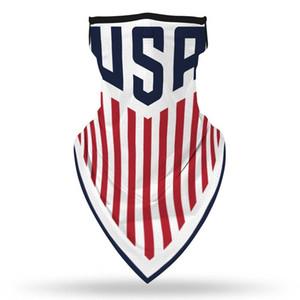 Печать Triangle Flag Спорт Digital езда Маска Солнцезащитная треугольник UmsvO Открытый спортивный американский Полотенце Открытый Висячие уха Полотенце Qvna
