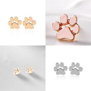 Boucles d'oreilles Paw Stud 2020 Mode Bijoux Populaire Boucle d'oreille Populaire Femmes Semelles Semelles Semelles Semelles Simple Style 1 3ZJ F2B