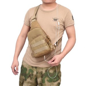 Outdoor Professional Regolabile per Camping Diagonal Sport Escursionismo Portable Backpack Peast Climbing Bag Bag Borsa Spalla Singolo LFPQR