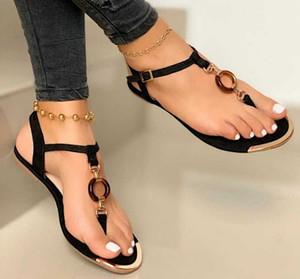 BLWBYL Summer Sandals Sandales Plateaux Chaussures Femme Bohême Bohême Pu en cuir Cristal Deco Sandalias Mujer Sapato Feminino N234