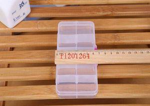 FedEx DHL Envío gratis Ajustable 10 compartimento Caja de almacenamiento transparente de plástico para joyería Herramienta de pendiente CO BBYNJX BDESPORTS