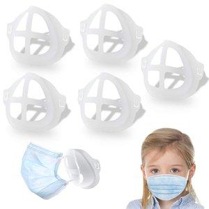 3D Mask Уголки Protect губной помады губы Внутренняя поддержка Держатель рамки носового дыхания плавно DIY маска для лица Аксессуары DHB2179