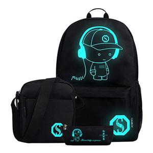 New School Backpack for Boy Girls Middle School Cartoon Bookbag Children Cool Student Backpack Kids Waterproof Oxford Schoolbag Y200706