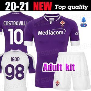 2020 2021 RIBERY CALLEJON PRINCE pezzella de football FIORENTINA CHIESA 20 21 Fiorentina Football Shirts VLAHOVIC de foot Maillot