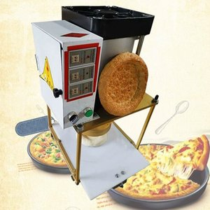 Pizza Dough Compressez la machine Pizza Dough Aplattening Presse Dougher Rouleaux Rouleaux Chapati Pressing Machine Pâte Presseur 1-30pcs / min
