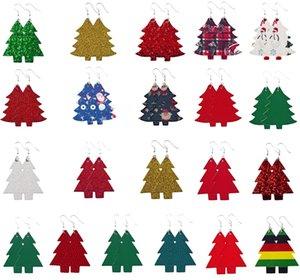 Nuova tendenza della moda Albero di Natale orecchini di paillettes Festival del Capodanno orecchini una varietà di stili tra cui scegliere