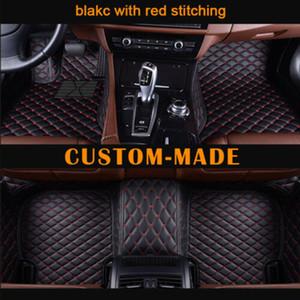 Personalizzato di lusso adatto per il 2007-2021 Lincoln Navigator Continental MKC MKT MKS MKX MKX MKZ Tappetini per auto 12 Colori Tappetini