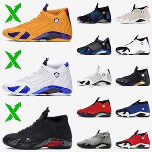2020 Stock Jumpman x 14 Hyper Royal 14s Mens Basketball Shoes SatinJordanRetro University Gold Red Desert Sand trainers sneakers