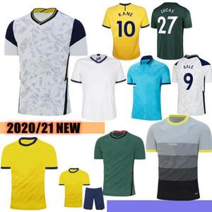 التايلاندية توتنهام 20/21 الجودة Kane Soccer Jersey Lamela Bergwijn Ndombele Dele Son Jersey 19/20 كرة القدم قميص الرجال الاطفال عدة مجموعة موحدة