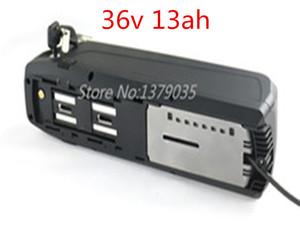 US UE Aucune taxe batterie lithium batterie de vélo électrique 13Ah ionique ebike Akku ebike li-ion batterie de chargeur 36Volt +