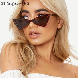 Cat Eye Women Sunglasses 2020 Fashion Designer Triangle Sun Glasses Female Lens Shades for Ladies Eyewear UV400