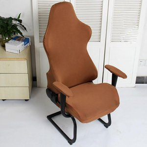 Spandex Protector Fauteuils Soft Gaming Élastic Office Ordinateur Sièges Décoration Chaises Modern Couvre Polyester lavable1