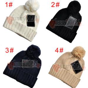 Kış Noel Şapkaları Kadın Erkek Moda Kasketleri Skullies Chapeu Caps Pamuk Gorros Touca De Inverno Macka Şapka 5 Renkler Ücretsiz Gemi