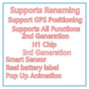H1 Kopfhörer Chip Air Pro Generation 3 AP3 Metallscharnier Wireless Ladung Bluetooth Kopfhörer PK I12 TWS PODS 2 AP2 Ohrhörer 2. Generation