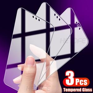3Pcs di protezione di vetro per Huawei Y6 Y7 Pro Y9 Primo 2018 2019 della protezione dello schermo di Huawei Y6S Y7S Y8S Y9S Y6P Y7P Y8P vetro temperato