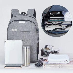 Laamei 2020 novo design portátil USB mochila para 16 polegadas saco de moda viagem Backbag Daypacks Masculino Lazer Mochila Mochila