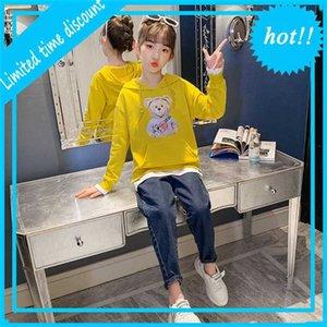 Terno 2021 New Estilo Estrangeiro Girls 'Wear Wear Jeans Primavera Dois Pedaço