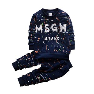 kids boys girls outfits Baby 2pcs Clothing Sets Tshirt+ Pants Casual Suits Sportwear clothes tracksuit kids Clothing Sets