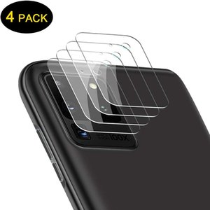 4 PCS Tempered Glass 9H Hardness Anti-Scratch Lens film for Samsung Galaxy S21 Ultra S20 Plus Camera Lens Protector film For note20Ultra
