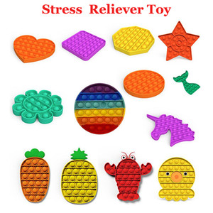 Among US Reversible Flip Pop It Fidget Toy Bubble Fidget Sensory Toy Decompression Toy Autism Anxiety Stress Reliever for Kids Adults