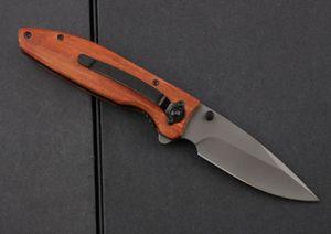 wholesaler Benchmade BrowningF70 Flipper Titanium Pocket Folding Knife 440C 57HRC Tactical Camping gear Hunting Survival Knives EDC tool