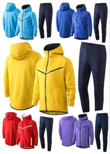 NCAA 2021 soccer Jacket training suit Training adult Uniform Football Uniform Jacket tracksuit with hooded pant kit more color