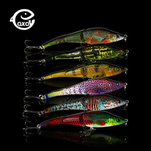 Qxo Fishing Lures Jig Metal Wobbler Lures Fishing Popper Hard Jigging Lure Ice Vib 9.5cm 10 G Duck Sea Minnow Shad Spinners jllDIt