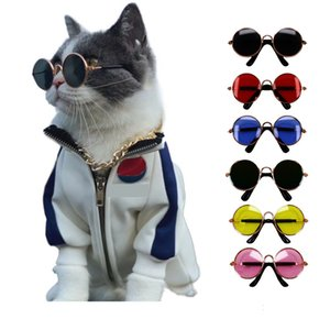 Soft Glasses random color For Little Cat Eye-wear Dog Sunglasses Photos Pet Products