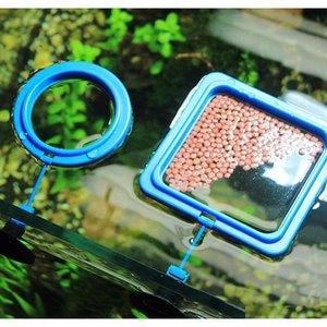 Nicrew Aquarium Feeding Ring Fish Tank Floating Food Tray Feeder Square Circle Accessory Water Plant Buoy qylHTv yh_pack