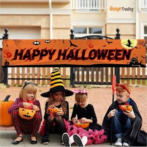 Halloween party banner flag high qulily polyester fibre Shopping mall school room front of house street garden Halloween decoration couplet