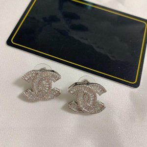 2020 Fashion Rare Earrings Zircon Inlaid Earrings High Quality Brass Material Earrings for Woman Jewelry Supply