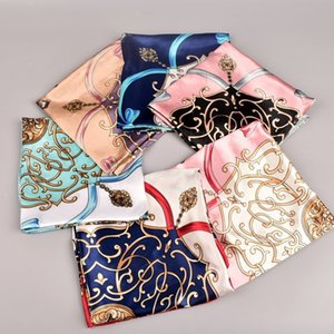 2020 spring new carriage simulation silk 90 * 90com generous silk scarf ladies long scarf wholesale free shipping