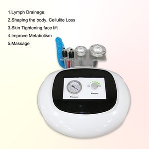 glass tube 80kpa professional cellulite treatment beauty fat cellulite remover full body massager beauty machine 2021
