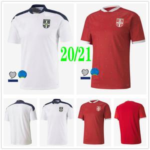 2020 2021 National Team Serbia Soccer Jerseys Mitrovic Tadic Kolarov Sergej Matic Kostic Ivanovic Custom Home Away Srbija Camicie di calcio