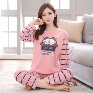 41mF Automne Hiver design femme CottonPijamas pyjamas occasionnels garçon mignon minecraft manches courtes Pantalons de nuit pyjamas Ensembles Homewea