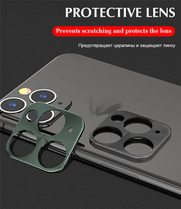 Camera Protective Glass For iPhone Titanium Alloy Lens Protection Frame Apple 11Pro New Lens Sticker Camera All-inclusive Application