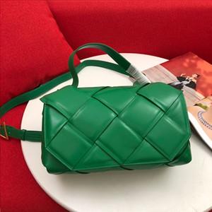 High Quality Top Handle Bag Woven Tote Bags Calfskin Leather Handbag Adjustable Shoulder Strap Crossbody Bags Zipper Pocket Pouch Clutch