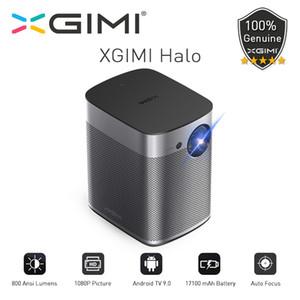 XGIMI Halo Mini Projecteur portable avec batterie 17100mAh 1080P Full HD Android 9.0 Home Cinema 3D de 800Ansi Lumens