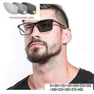 Diopter progresivo Reading FML Gafas de sol PhotoChromic Glasses Globos de moda redondos Mujeres con transición multifocal GJPXX