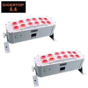 Professionale della fase LED wall washer lineare luce 12x18W RGBWAP IP20 DMX coperta luce di striscia LED wall washer per la decorazione