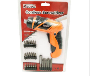 4 .8v Electric Screwdriver Household Mini Rotary Dual -Purpose Kit Batch Head