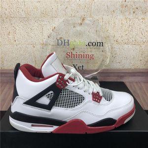 2020 Yeni En Krem Yelken Kara Kedi Beyaz Çimento Erkekler Kadınlar Jumpman 4 4s Basketbol Ayakkabı Cactus Jack Erkek Eğitmenler Spor Ayakkabı Size36-46